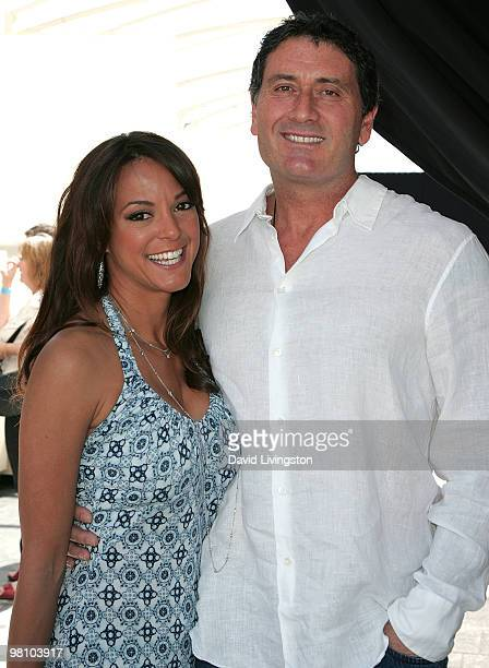"Actress Eva La Rue and fiance businessman Joe Cappuccio attend the ""Unveiled:Bridal Style Revealed"" showcase along Melrose Place on March 28, 2010 in..."