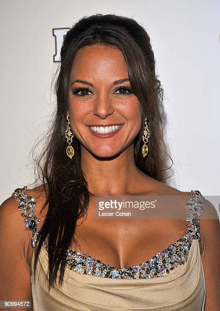 Actress Eva La Rue arrives at the 13th Annual Entertainment Tonight and People Magazine Emmys After Party at the Vibiana on September 20 2009 in Los...