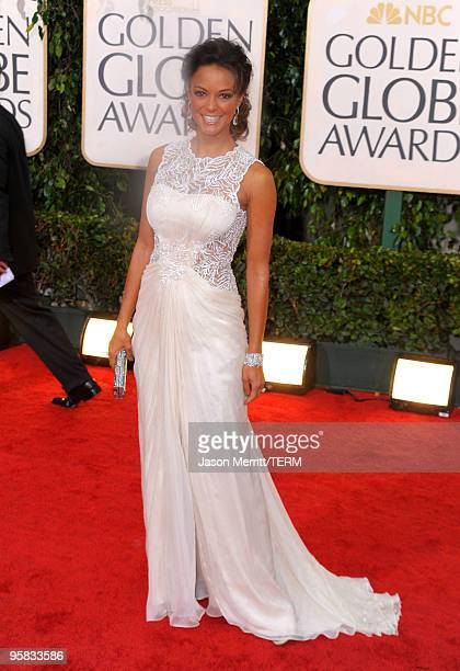 Actress Eva La Rue arrives at the 67th Annual Golden Globe Awards held at The Beverly Hilton Hotel on January 17 2010 in Beverly Hills California