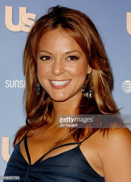 Actress Eva La Rue arrives at the Us Weekly's Hot Hollywood 2007 Arrivals at Opera on September 26 2007 in Hollywood California