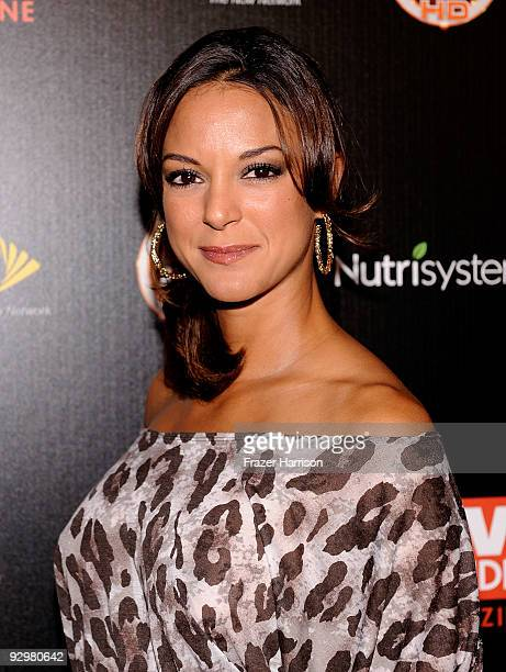 Actress Eva La Rue arrives at TV GUIDE Magazine's Hot List Party at SLS Hotel ÒThe BazaarÓ on November 10 2009 in Los Angeles California