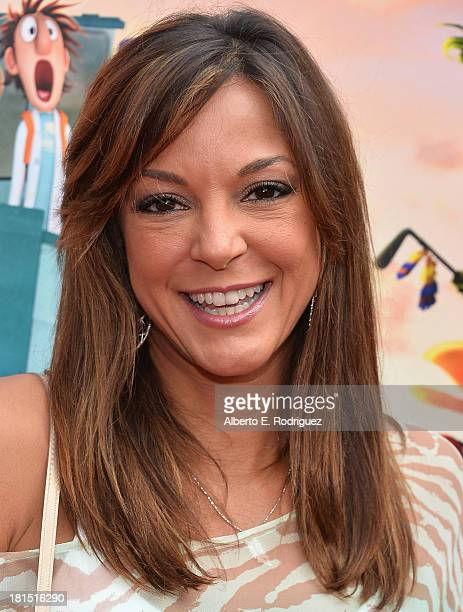 Actress Eva La Rue arrives to the premiere of Columbia Pictures and Sony Pictures Animation's Cloudy With A Chance of Meatballs 2 at the Regency...