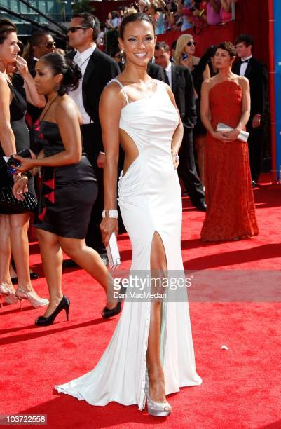 Actress Eva La Rue attends the 62nd Annual Primetime Emmy Awards at Nokia Theatre Live LA on August 29 2010 in Los Angeles California