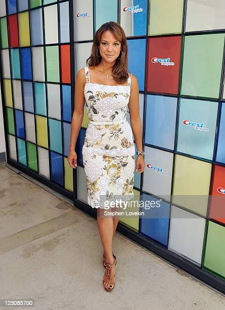 Actress Eva La Rue attends the PG Oral Care launch at 404 10th Avenue on August 30 2011 in New York City