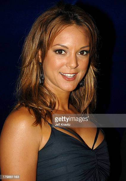 Actress Eva La Rue attends the Us Weekly 2007 Hot Hollywood party at Opera on September 26 2007 in Los Angeles California