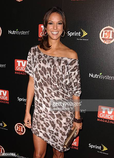 Actress Eva La Rue attends TV Guide Magazine's Hot List Party at SLS Hotel on November 10 2009 in Beverly Hills California