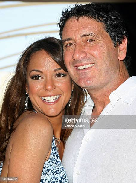 Actress Eva LaRue and Joe Cappuccio arrive at the Unveiled: Bridal And Style Revealed Event on March 28, 2010 in Los Angeles, California.
