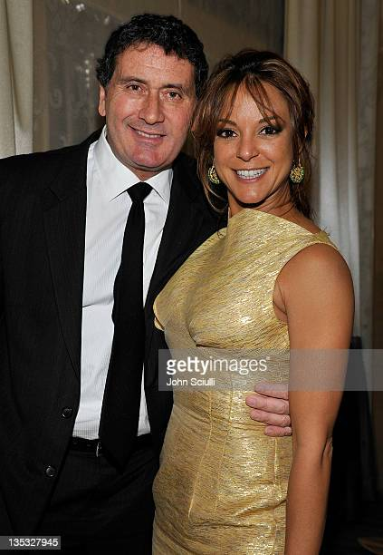 Actress Eva LaRue and Joe Cappuccio attend the 2011 UNICEF Ball presented by Baccarat held at the Beverly Wilshire Hotel on December 8, 2011 in Los...