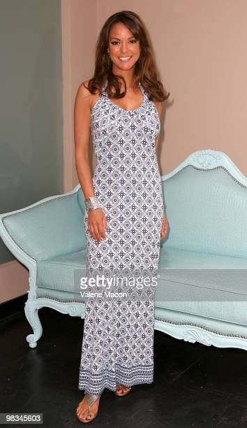 Actress Eva LaRue arrives at the Unveiled Bridal And Style Revealed Event on March 28 2010 in Los Angeles California