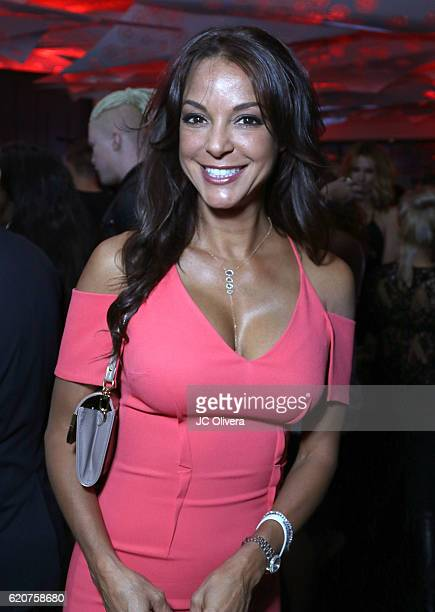 Actress Eva LaRue attends Latina Magazine's 20th Anniversary Event Celebrating Hollywood Hot List Honorees at STK Los Angeles on November 2 2016 in...
