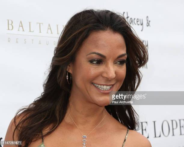 Actress Eva LaRue attends the 12th Annual George Lopez Golf Classic Cinco De Mayo party at Baltaire Restaurant on May 05 2019 in Los Angeles...
