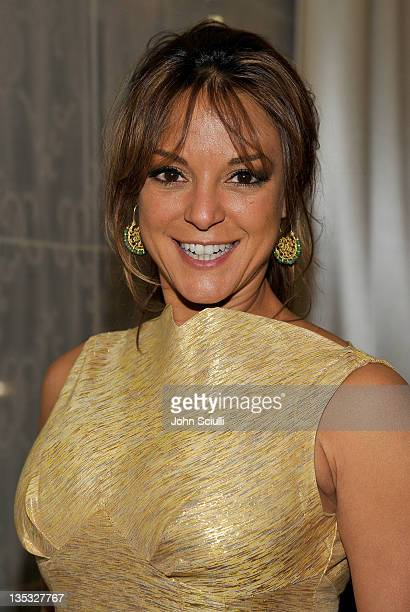 Actress Eva LaRue attends the 2011 UNICEF Ball presented by Baccarat held at the Beverly Wilshire Hotel on December 8 2011 in Los Angeles California