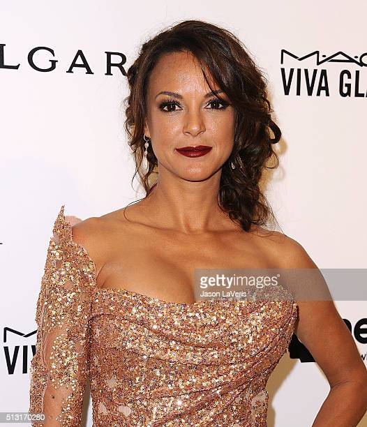 Actress Eva LaRue attends the 24th annual Elton John AIDS Foundation's Oscar viewing party on February 28 2016 in West Hollywood California