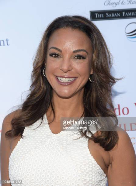 Actress Eva LaRue attends the Champion For Children Gala and Awards celebration at Sportsman's Lodge on August 11 2018 in Los Angeles California