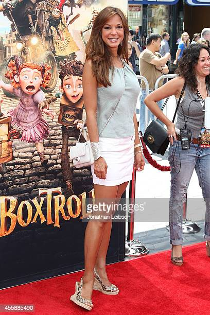 Actress Eva LaRue attends the The Boxtrolls Los Angeles Premiere Benefiting The Imagination Foundation at Universal Studios Hollywood on September 21...