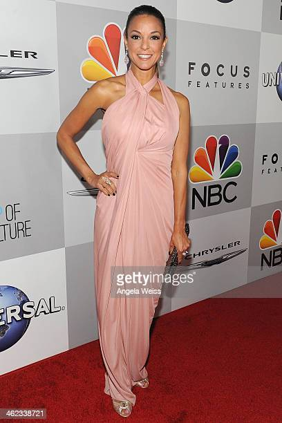 Actress Eva LaRue attends the Universal NBC Focus Features E sponsored by Chrysler viewing and after party with Gold Meets Golden held at The Beverly...