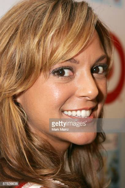 Actress Eva LaRue Callahan attends the party to celebrate Jane Buckingham's new novel at the Beverly Wilshire Hotel on May 3 2006 in Beverly Hills...
