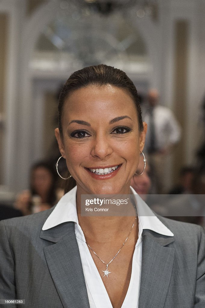 Actress Eva LaRue poses for a photo during the 2013 Susan G. Komen Global Women's Cancer Summit on World Cancer day at the Fairmont Hotel on February 4, 2013 in Washington, DC.