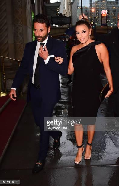 Actress Eva Longoria and Jose Baston are seen walking in Midtown on August 7 2017 in New York City