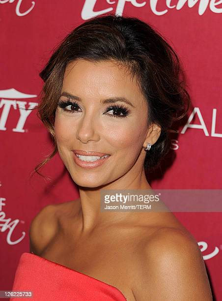 Actress Eva Longoria arrives at 3rd Annual Variety's Power of Women Event presented by Lifetimeon at the Beverly Wilshire Four Seasons Hotel...