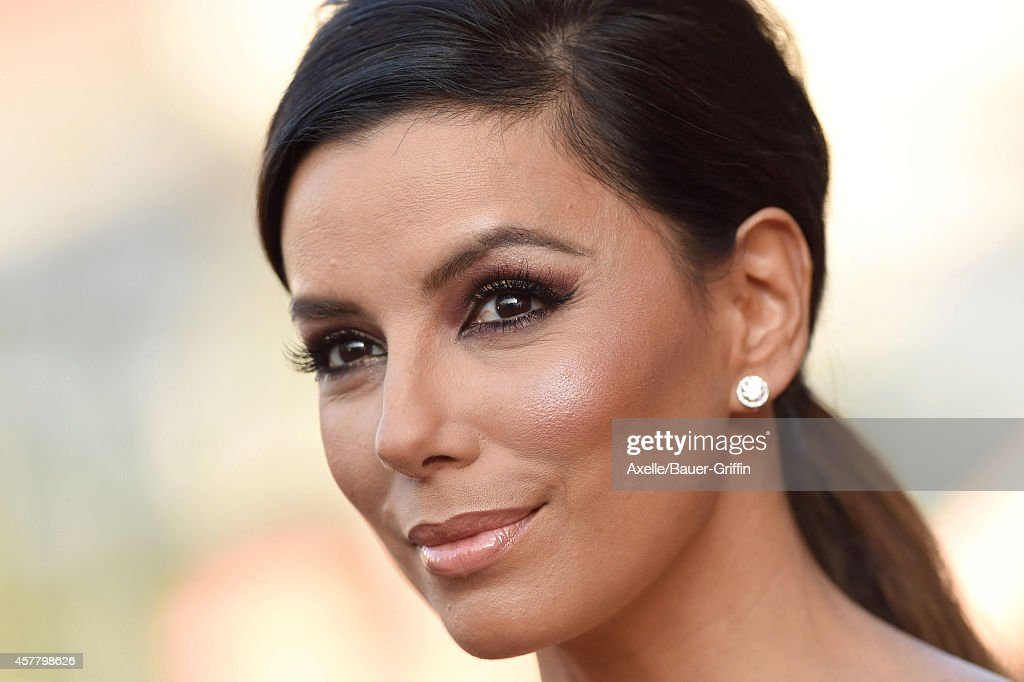 Actress Eva Longoria arrives at the 2014 NCLR ALMA Awards at Pasadena Civic Auditorium on October 10, 2014 in Pasadena, California.
