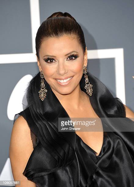Actress Eva Longoria arrives at The 53rd Annual GRAMMY Awards held at Staples Center on February 13, 2011 in Los Angeles, California.