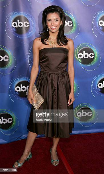Actress Eva Longoria arrives at the ABC TCA party at the Abby on July 27 2005 in West Hollywood California