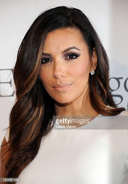 Actress Eva Longoria arrives at The Eva Longoria Foundation's PreALMA Awards Dinner Presented By Target on September 15 2012 in Los Angeles California