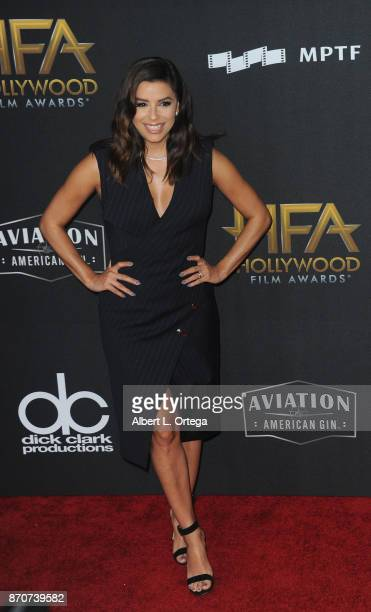 Actress Eva Longoria arrives for the 21st Annual Hollywood Film Awards held at The Beverly Hilton Hotel on November 5 2017 in Beverly Hills California
