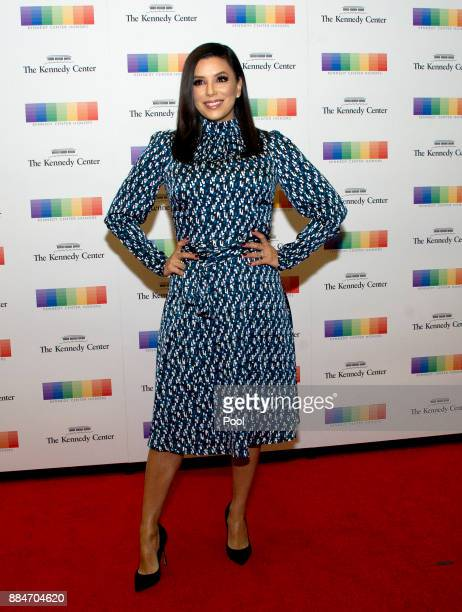 Actress Eva Longoria arrives for the formal Artist's Dinner hosted by United States Secretary of State Rex Tillerson in their honor at the US...