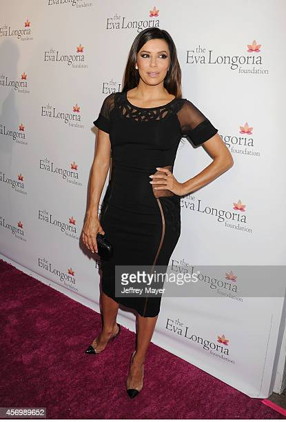Actress Eva Longoria attends Eva Longoria's Foundation dinner at Beso on October 9, 2014 in Hollywood, California.