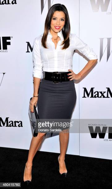 Actress Eva Longoria attends MaxMara And W Magazine Cocktail Party To Honor The Women In Film MaxMara Face Of The Future Rose Byrne at Chateau...