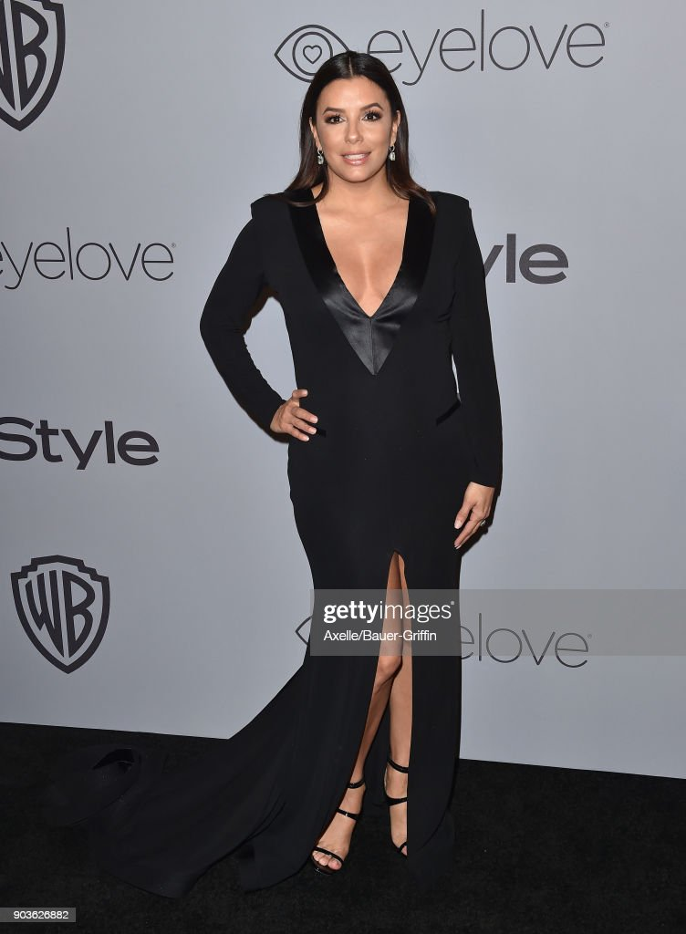 Actress Eva Longoria attends the 19th Annual Post-Golden Globes Party hosted by Warner Bros. Pictures and InStyle at The Beverly Hilton Hotel on January 7, 2018 in Beverly Hills, California.
