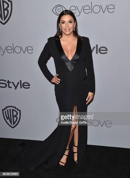 Actress Eva Longoria attends the 19th Annual PostGolden Globes Party hosted by Warner Bros Pictures and InStyle at The Beverly Hilton Hotel on...