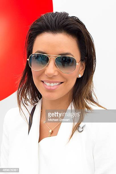 Actress Eva Longoria attends the 2014 Frieze New York Art Fair at Randall's Island on May 11, 2014 in New York City.