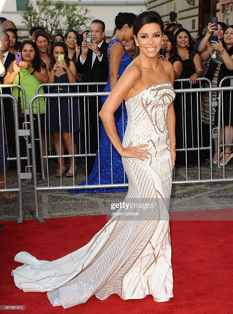 Actress Eva Longoria attends the 2014 NCLR ALMA Awards at Pasadena Civic Auditorium on October 10, 2014 in Pasadena, California.