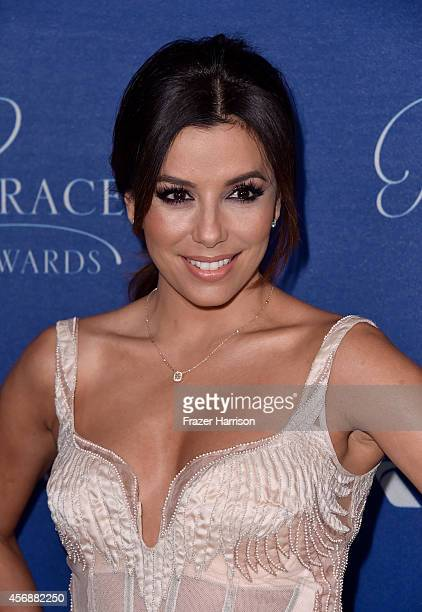 Actress Eva Longoria attends the 2014 Princess Grace Awards Gala with presenting sponsor Christian Dior Couture at the Beverly Wilshire Four Seasons...