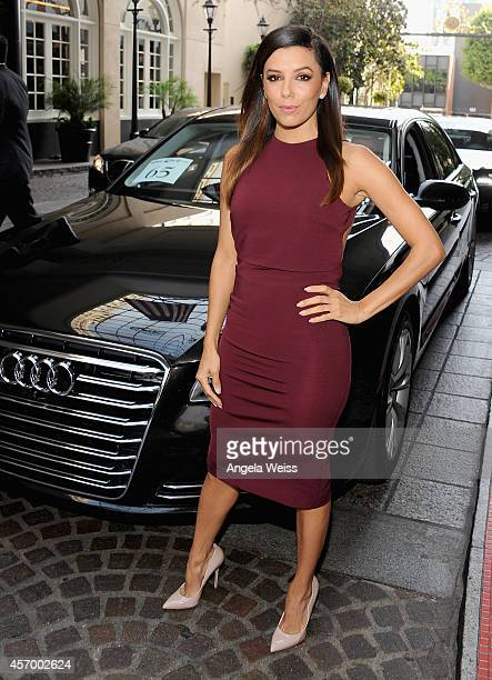 Actress Eva Longoria attends the 2014 Variety Power of Women presented by Lifetime at Beverly Wilshire Four Seasons Hotel on October 10 2014 in Los...