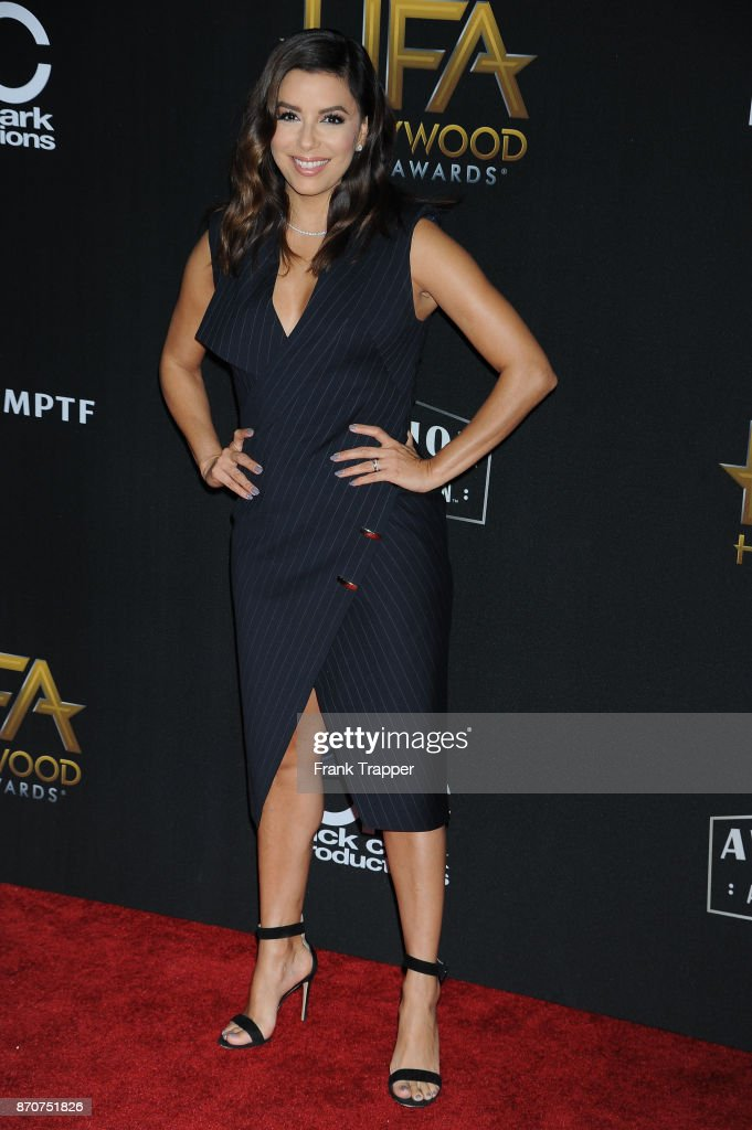 Actress Eva Longoria attends the 21st Annual Hollywood Film Awards held at The Beverly Hilton Hotel on November 5, 2017 in Beverly Hills, California.