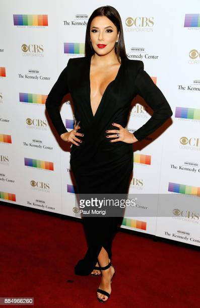 Actress Eva Longoria attends the 40th Kennedy Center Honors at the Kennedy Center on December 3 2017 in Washington DC