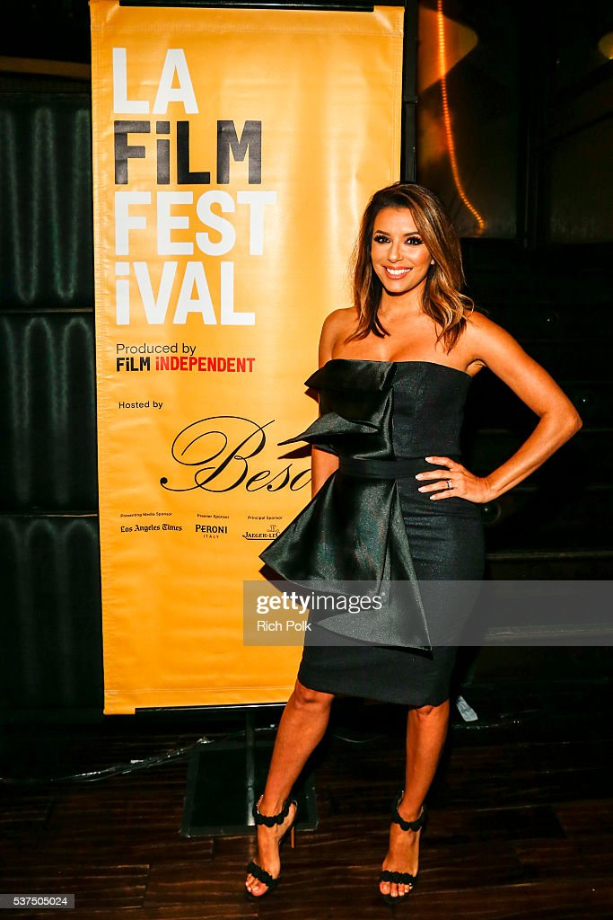Actress Eva Longoria attends the after party at Beso for Peroni at 2016 LAFF Opening Night on June 1, 2016 in Los Angeles, California.