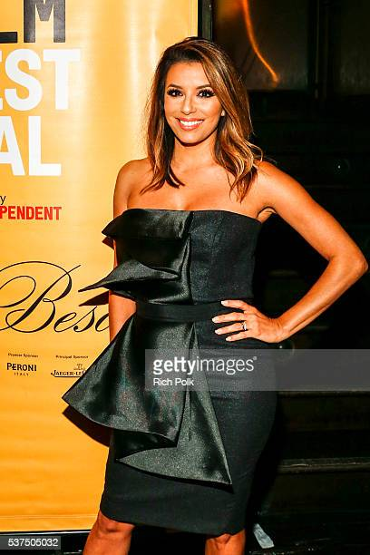 Actress Eva Longoria attends the after party at Beso for Peroni at 2016 LAFF Opening Night on June 1 2016 in Los Angeles California