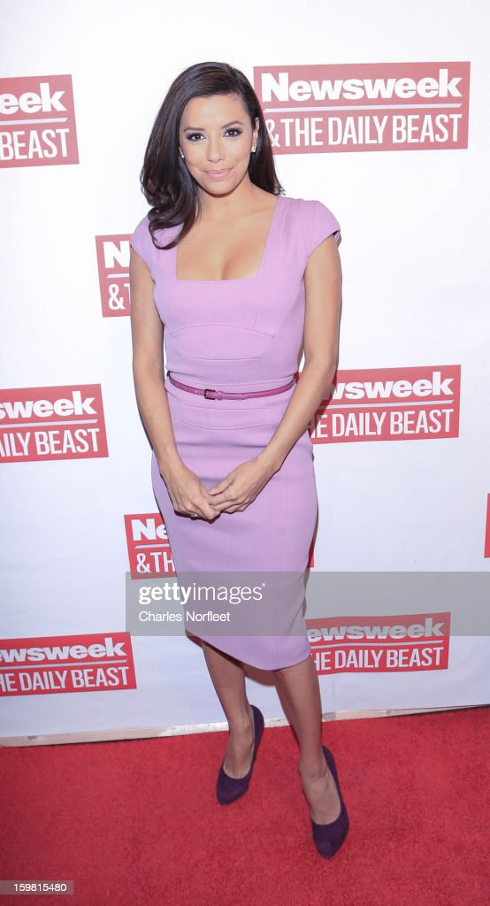 Actress Eva Longoria attends The Daily Beast Bi-Partisan Inauguration Brunch at Cafe Milano on January 20, 2013 in Washington, DC.