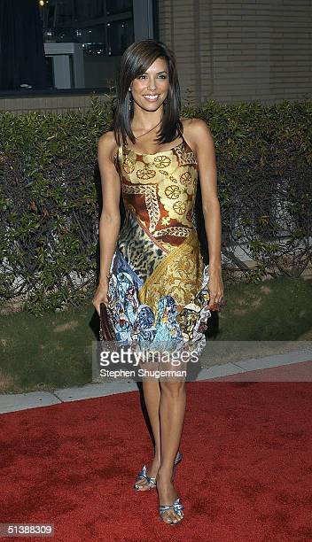 Actress Eva Longoria attends the 'Desperate Housewives' premiere party at Barney's New York October 3 2004 in Beverly Hills California