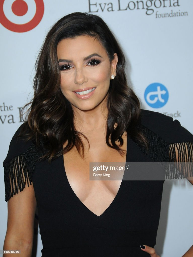 Actress Eva Longoria attends the Eva Longoria Foundation annual dinner at Four Seasons Hotel Los Angeles at Beverly Hills on October 12, 2017 in Los Angeles, California.