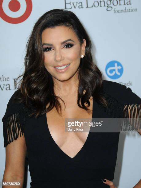 Actress Eva Longoria attends the Eva Longoria Foundation annual dinner at Four Seasons Hotel Los Angeles at Beverly Hills on October 12 2017 in Los...