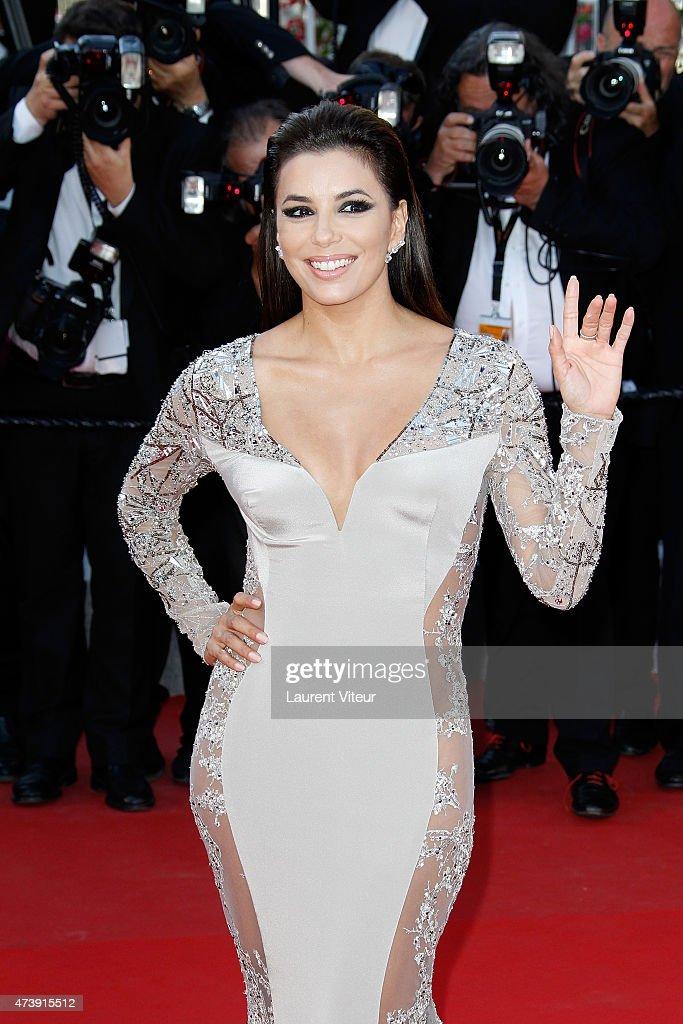 Actress Eva Longoria attends the 'Inside Out' premiere during the 68th annual Cannes Film Festival on May 18, 2015 in Cannes, France.