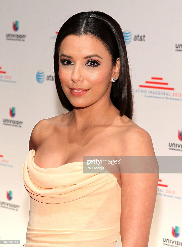 Actress Eva Longoria attends the Latino Inaugural 2013 at The Kennedy Center on January 20, 2013 in Washington, DC.