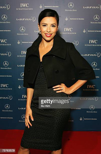 Actress Eva Longoria attends the Laureus Welcome Party at Shoko prior to the Laureus Sports Awards on April 1 2007 in Barcelona Spain