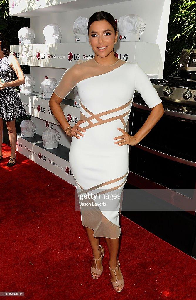 "Eva Longoria And LG Electronics Host LG ""Fam To Table"" Series"